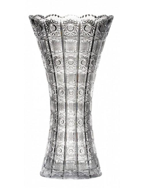 Krištáľová váza 500PK, farba číry krištáľ, výška 405 mm