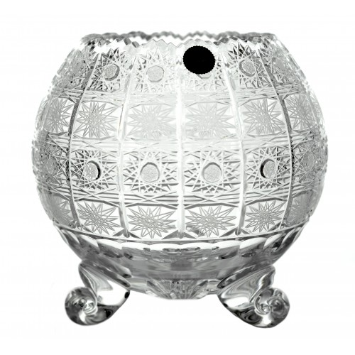 Krištáľová váza 500PK IV, farba číry krištáľ, výška 205 mm