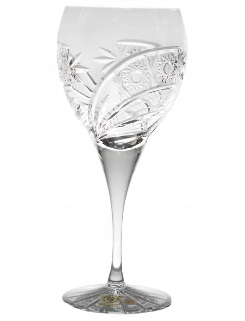 Krištáľový pohár na víno Kometa, farba číry krištáľ, objem 340 ml