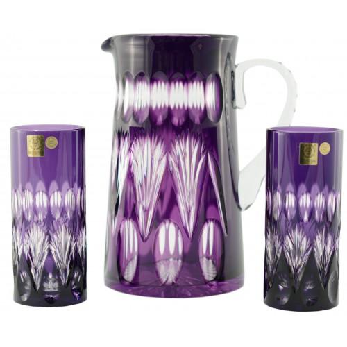Set Zora, farba fialová, objem 1450 ml + 2x350 ml