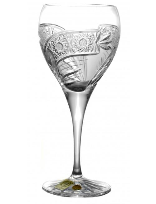 Krištáľový pohár na víno Kometa, farba číry krištáľ, objem 270 ml
