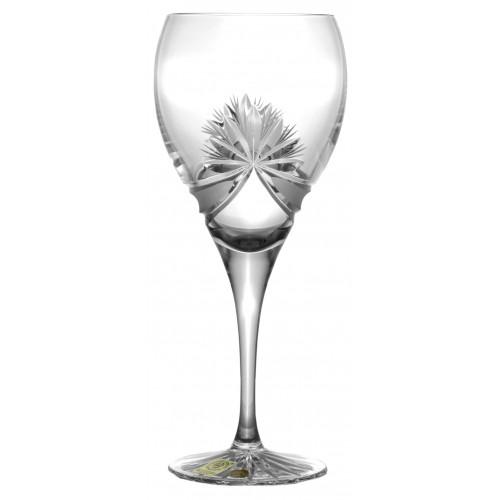 Krištáľový pohár na víno Mašľa, farba číry krištáľ, objem 420 ml