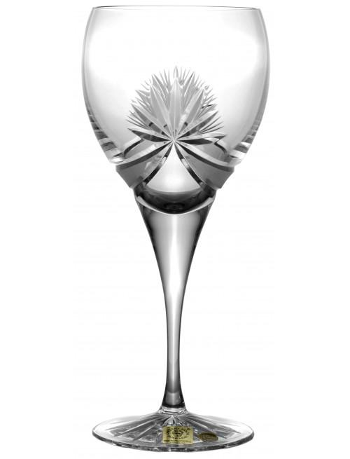 Krištáľový pohár na víno Mašľa, farba číry krištáľ, objem 340 ml