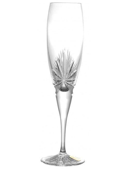 Krištáľová flauta Mašľa, farba číry krištáľ, objem 200 ml