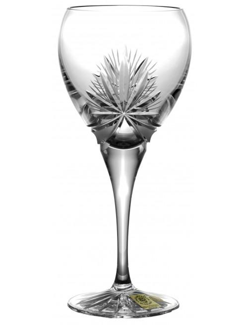 Krištáľový pohár na víno Mašľa, farba číry krištáľ, objem 270 ml
