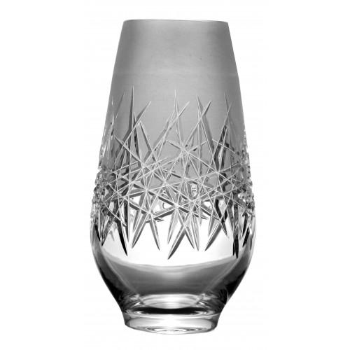 Krištáľová váza Hoarfrost, farba číry krištáľ, výška 255 mm